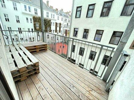 Klassische Altbauwohnung im Herz des 7., Bezirkes befindet sich eineWohnung mit 3 Zi. + Balkon