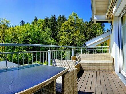 Ortszentrum Elixhausen: Ansprechende 3 Zimmer Dachgeschosswohnung in absoluter Ruhelage!