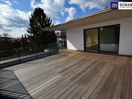 ITH WOW-FAKTOR GARANTIERT! GROSSARTIGES PENTHOUSE in INNENSTADTLAGE, ABSOLUTE RUHE! 128 m² ERSTBEZUG, 60 m² OST- WESTTERRASSE!…