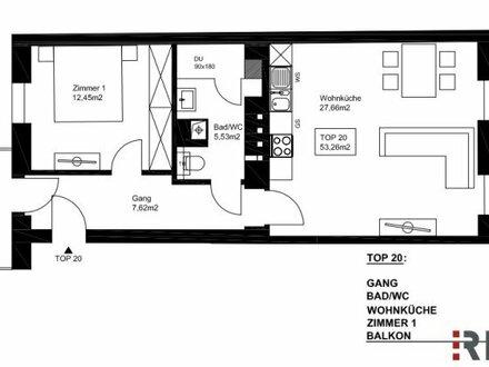 !!! Letzte Wohnung !!! 2-Zimmer Altbau mit Balkon und Ost-West Ausrichtung ++ exklusiv und lichtdurchflutet