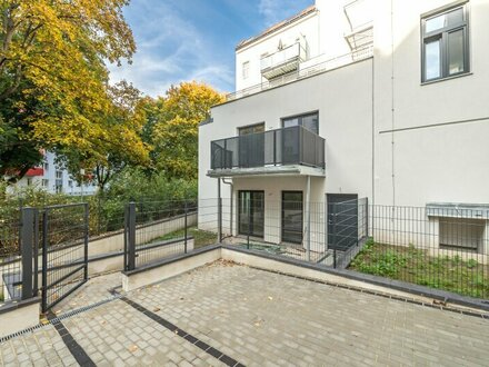 ++NEU** 3-Zimmer Neubau-Maisonette mit Garten u. Balkon, Apartmentwidmung! oder als Büro oder Praxis! toller Schnitt!