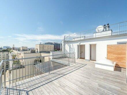 ++PREISREDUKTION++ Hochwertiger 4-Zimmer DG-Erstbezug, Dachterrasse mit Weitblick! Tolle Raumaufteilung!
