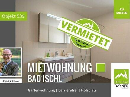 Vermietet! Gartenwohnung! Leistbares Wohnen in Bad Ischl / 2-Zimmer Wohnung in Rettenbach!