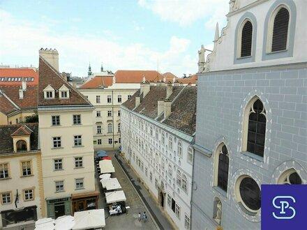 Erstbezug: 73m² DG-Wohnung am Franziskanerplatz - 1010 Wien