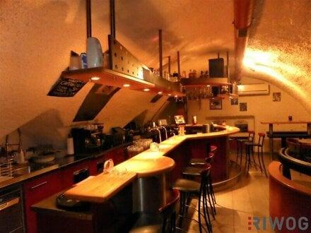 Bar - voll ausgestattet - im Stadtzentrum