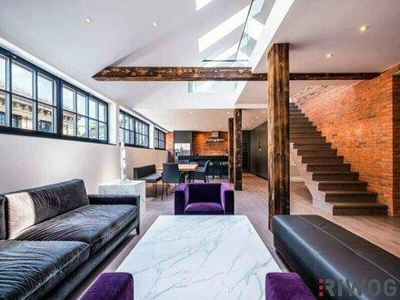 LEHARGASSE meets NEW YORK - außergewöhnliches Designer-Penthouse mit Dachterrasse und Weitblick