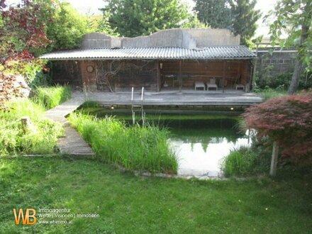 5 Zimmer Einfamiliehaus mit idyllischem Schwimm-Biotop