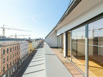 ++ 10% PROVISIONSRABATT ++ Premium 4-Zimmer DG-Maisonette! sehr tolle Dachterrasse mit tollem WEITBLICK! ++VIDEOBESICHTIGUNG++