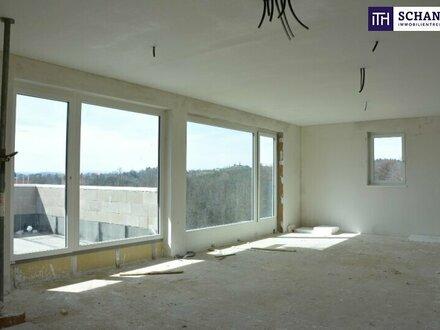 EXKLUSIVE Mehrfamilien-Villa mit grandiosen Terrassen + Garten + 2 Carports + 2 Abstellplätze