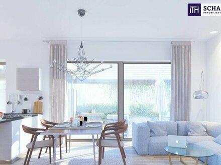 Kompakte Drei-Zimmer-Gartenwohnung mit optimalen Grundriss. PROVISIONSFREI! Ab 12/2022