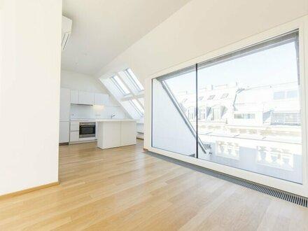 Wunderschöne 2 Zimmer DG-Wohnung mit Terrasse in 1010 Wien zu mieten!