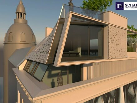 DAS Außergewöhnliche erleben! Hier wohnen Sie auf über 176 m² Wohnfläche, Dachterrasse on TOP und Design in Vollendung.