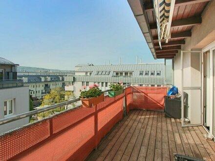 Traumhafte DG Wohnung mit Terrasse in herrlicher Ruhelage!