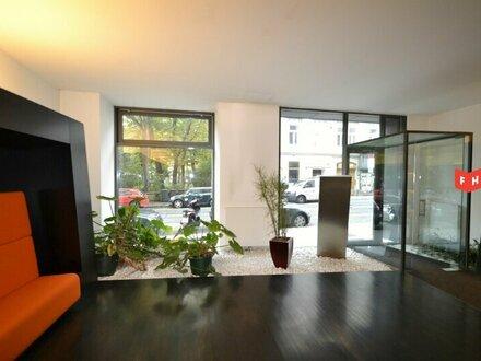 Vermietet wird eine moderne Büroflächen in repräsentativem Medienhaus Nähe Lerchenfelder Gürtel