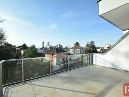 Exklusive 3-Zimmer-Wohnung mit zwei Terrassen in Grünruhelage