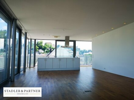 ACHTUNG: PENTHOUSE im Andräviertel - große Sonnenterrasse - Panorama