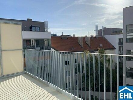 Neubau – Perfekt aufgeteilte 2-Zimmer Wohnung mit Balkon