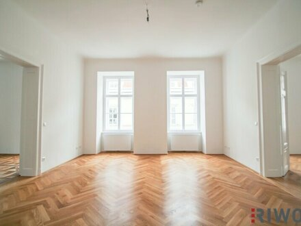 Erstbezug Nähe Stadtpark // Repräsentative 4-Zimmer Stilaltbauwohnung