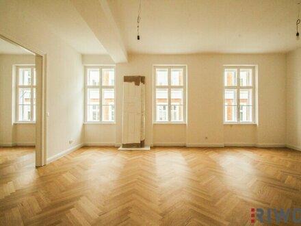 ++ ALT-WIEN Stil ++ traumhafte 4-Zimmer Altbauwohnung in Ruhelage mitten im Sechsten nahe dem Raimund Theater ** 3,30m Raumhöhe!!