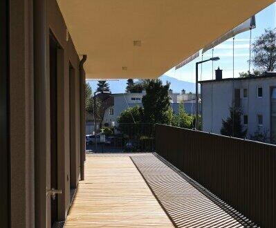 Aigen: Perfekt geschnittene 2-Zimmer-Wohnung mit sonniger Westterrasse!