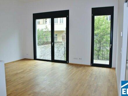 Wohnen in einem kleinen Mehrfamilienhaus in Ruhelage - Schöne 2 Zimmerwohnung mit Balkon