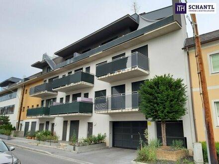 ITH PENTHOUSE - LIVING? HIER! 50 m² DACHTERRASSE mit 360° Stadtblick! KLEINES PENTHOUSE, im ZENTRUM von PUNTIGAM.
