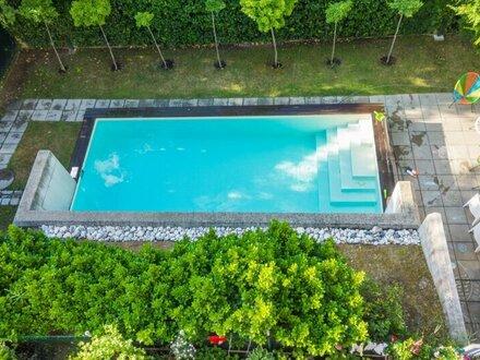 Alles auf einer Ebene! 224 m2 Luxus Eigentumswohnung mit 3 Balkonen, im Cottageviertel!