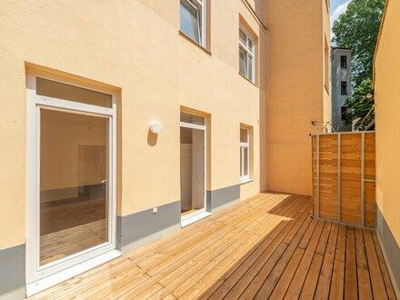 ++NEU** Kernsanierter 3-Zimmer ALTBAU-ERSTBEZUG mit 20m² Terrasse! optimaler Grundriss!!