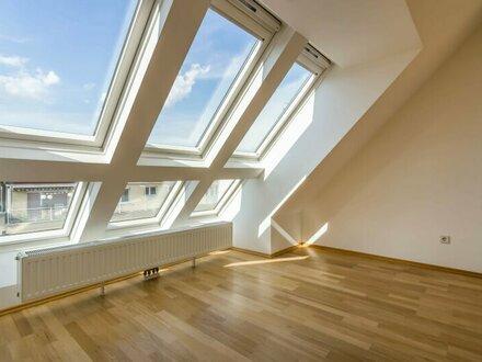 ++VIDEOBESICHTIGUNG++ Fantastischer 4-Zimmer DG-Erstbezug mit 30m² Dachterrasse, tolle LAGE in 1080!