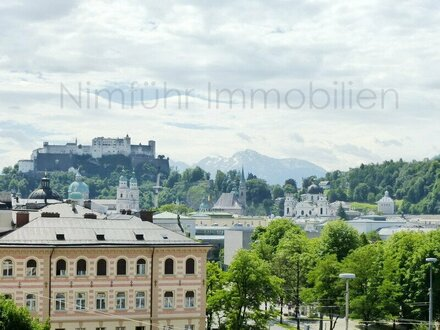 Gemütliche 3-Zimmer-Dachgeschoß-Galerie-Wohnung in unmittelbarer Nähe des Mirabellplatzes