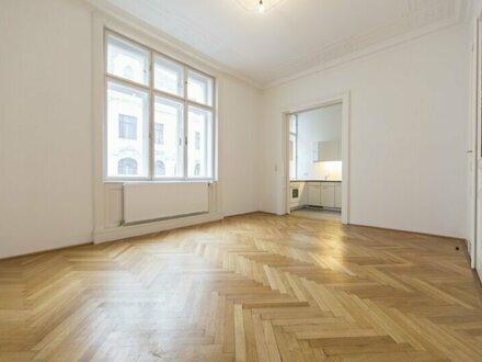 TOP Sanierte 3-Zimmer Wohnung im Altbaustil nahe Schwarzenbergplatz, unbefristet zu vermieten!