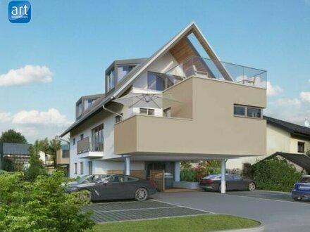 Moderne, helle 3,5 Zimmer Dachterrassenwohnung im Erstbezug - Liefering