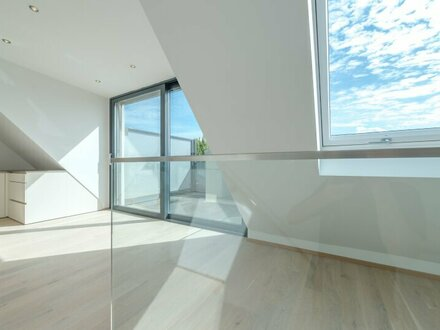 ++PROVISIONSRABATT** Hochwertige 4-Zimmer DG-Maisonette, perfekte Raumaufteilung! Dachterrasse!! Weitblick ***Videobesichtigung***