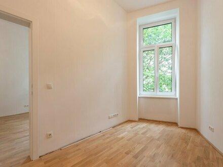 ++NEU++ Kernsanierte 2-Zimmer Altbauwohnung in Hofruhelage mit Fußbodenheizung!