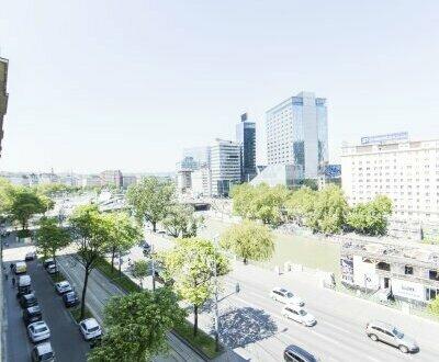 TOP SANIERTE 6-Zimmer Altbauwohnung mit Klimaanlage und Blick über den Donaukanal- unbefristet zu vermieten!