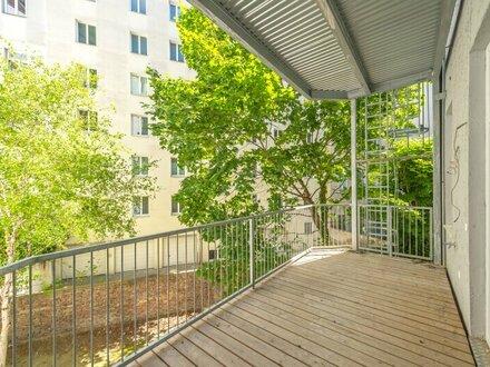 ++NEU++ Toller 2-Zimmer Altbau-ERSTBEZUG mit 14m² Balkon! FREI VERMIETBAR! (inkl. Einbauküche)