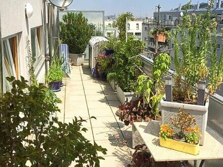 Dachterrassenwohnung mit Fernblick