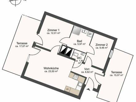 Provisionsfreie 3-Zimmer-Dachgeschoßwohnung (Link zu Onlinebesichtigung im Text)