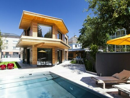 Offen geschnittene 2-Zimmer-Wohnung mit großer Terrasse und Pool!
