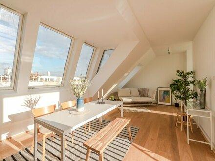 ++NEU++ Hochwertige 4-Zimmer DG-Maisonette, Erstbezug, tolle Dachterrasse!