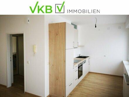 Zentral gelegene Wohnung mit Einbauküche und Balkon