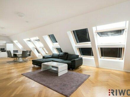 PENTHOUSE | 3 westseitige Dachterrassen mit TRAUM-Blick zum Kahlenberg - ideal für Diplomaten und Botschaften - 3 Schlafzimmer…