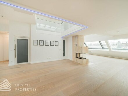 Exklusive 5-Zimmer-Dachterrassenwohnung, Nähe Stephansplatz