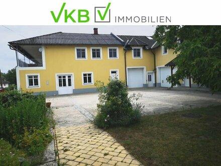 Familienwohnung mit Einbauküche, Garage und Garten