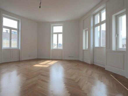 Sonnendurchfluteter Altbau-Erstbezug nach Generalsanierung! 3-Zimmer im 4. Liftstock mit kleinem Balkon