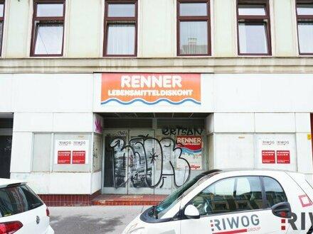 BIG BUSINESS IN OTTAKRING - 362M² GESCHÄFTSLOKAL - BRANCHENFREI - MIT VIELEN MÖGLICHKEITEN