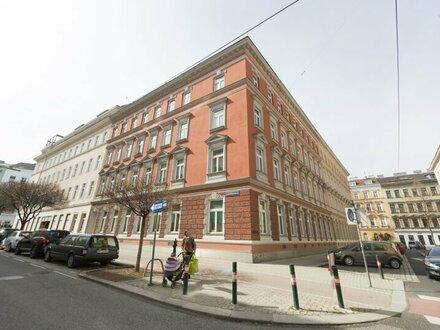 2 Zimmer Terrassenwohnung Altbau im 3. Bezirk - unbefristet vermietet ZU VERKAUFEN