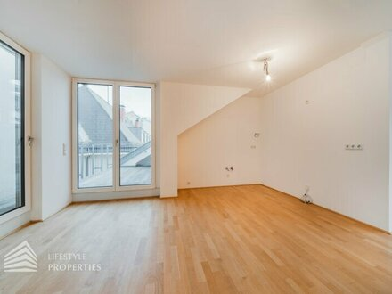 Dachgeschoss-Traum: 4 Zimmer, 3 Terrassen, Nähe Hamerlingpark