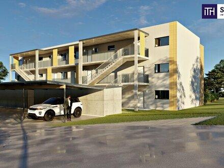 ANLEGER: Traumhafte, sonnige Erstbezugswohnung mit Südwestbalkon + Carport