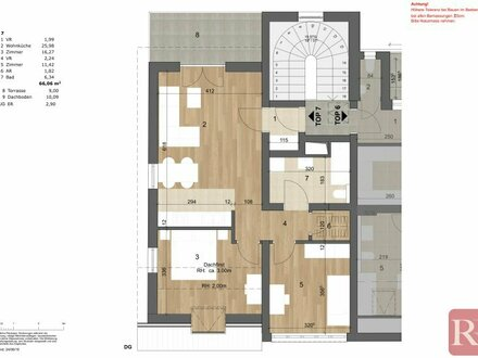Provisionsfreier Erstbezug - 3-Zimmerwohnung mit Balkon